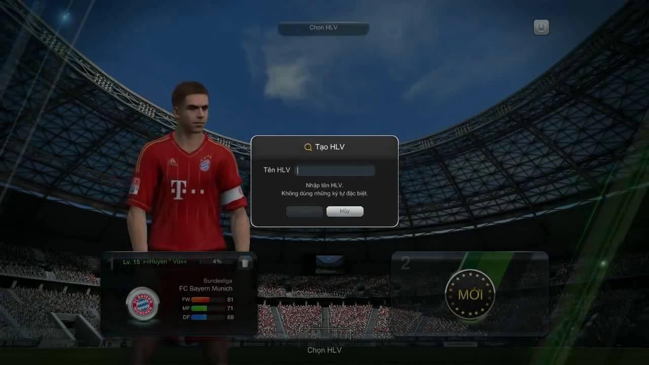 Để đổi tên nhân vật với kí tự đặc biệt trong game Fifa Online bạn thực hiện như thế nào?
