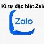 Những kí tự đặc biệt Zalo được yêu thích nhất 2020