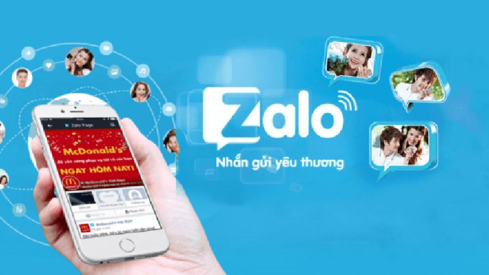 Zalo một trong những ứng dụng mạng xã hội phổ biến nhất tại Việt Nam